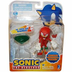 Zoofy International Sonic Action Figure With Accessories Set Knuckles & Emerald Sonic Cake, Sonic 3, Sonic Mania, Yoshi Amiibo, Sonic & Knuckles, Anime Cake, Marvel Room, Frozen Toys, Caleb