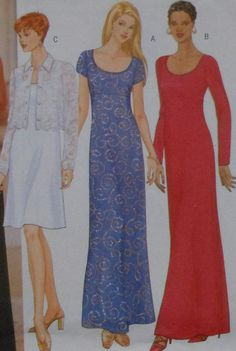 Long Gown Sewing Pattern