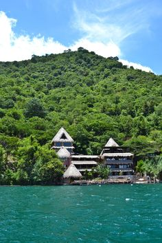 LAGUNA LODGE - Lake Atitlan, Guatemala - This luxuriously eco-friendly lodge has just 6 suites and can only be reached by boat.