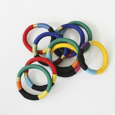 Woven bangles - South African design