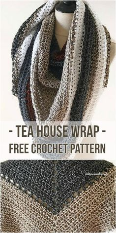 A crochet version of the much loved Coffee Shop Wrap, this triangle scarf will be a staple in your fall wardrobe. The Tea House Wrap is worked up loosely with a hook a couple sizes bigger than the yarn suggests to ensure a drapey, cozy wrap that can be worn over the shoulders or styled...Read More »