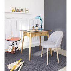 Schreibtischlampe blau Flynn
