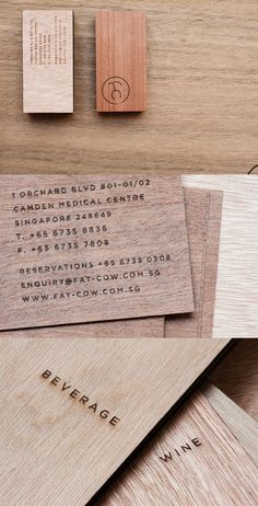 Fat Cow Business Cards