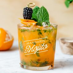 Are you a mojito purist? You might want to re-think your stance after trying this citrusy and tropical take on the classic rum cocktail! Rum Cocktails, Rum Cocktail Recipes, Cocktail And Mocktail, Spring Cocktails, Coctails Recipes, Beer Recipes, Classic Cocktails, Vodka Drinks, Summer Drinks