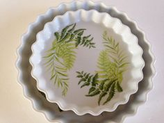 Your place to buy and sell all things handmade Quiche Dish, Creme Brulee, Flan, Pie Dish, Brunch, My Etsy Shop, Porcelain, Dishes, Retro