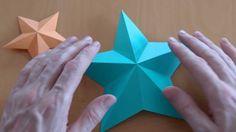 How to make a pentagram star - Origami tutorial