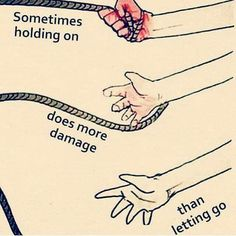 Letting go of things is hard, but it makes us better and stronger! Sad Quotes, Wisdom Quotes, Best Quotes, Motivational Quotes, Inspirational Quotes, The Words, Pictures With Deep Meaning, Meaningful Pictures, Learning To Let Go