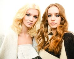 backstage at Houghton Fall 2014 RTW Collection - Fashion on TheCut