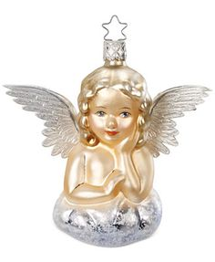 Inge-Glas Antique Angel Ornament
