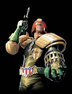 Judge Dredd by Alex Ross Comic Book Artists, Comic Artist, Comic Books Art, Poster S, Star Wars Poster, Star Trek Enterprise, Star Trek Voyager, Alex Ross Kingdom Come, Heavy Metal