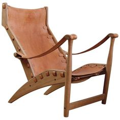 Preowned Mogens Voltelen Copenhagen Lounge Chair ($16,000) ❤ liked on Polyvore featuring home, furniture, chairs, accent chairs, brown, brown chair, secondhand furniture, woven furniture, weave chair and second hand furniture