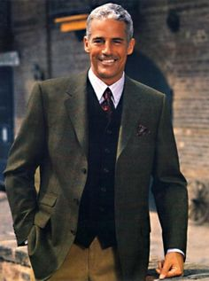 Image result for well dressed older male model