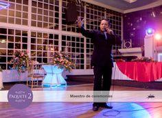 Maestro de ceremonias quien ameniza, programa y destaca lo mejor de tu evento.