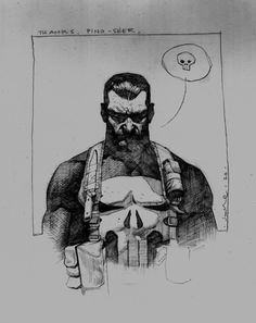 Punisher by Jerome Opena * Comic Book Characters, Marvel Characters, Comic Books Art, Book Art, Hq Marvel, Marvel Heroes, Marvel Comics, Bd Comics, Anime Comics