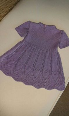 little girl dress,knitting dess,flower girl dress,purple dress,knitting,newborn,toddler,baby girl,girl dress,birthday,wedding day for girls I make same one,which color you want. This yarn is microacrylic. Use drop down Choose size you like to order: Sizing: Newborn 3-6 months 6-12 Sweater Knitting Patterns, Knitting Designs, Girls Sweaters, Baby Sweaters, Little Girl Dresses, Flower Girl Dresses, Baby Dress Patterns, Crochet Baby Clothes, Knitting For Kids