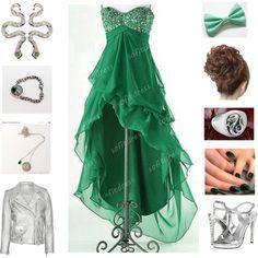"""""""Slytherin prom"""" by christi1021 on Polyvore"""