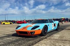 Twin-Turbo Ford GT Rips Off Record Texas Mile Run