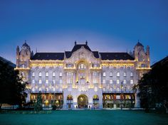 Four Seasons Hotel Gresham Palace Budapest: Once an apartment complex during Hungarian Communist rule, this 179-room hotel is now one of the Four Seasons' grandest properties.