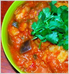 Fava Bean and Eggplant Stew (dried fava beans) | Holy Cow! Vegan Recipes