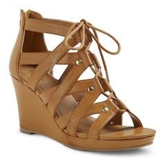 Availible in store. Size 8.5 Women�s Tami Gladiator Wedge Sandals