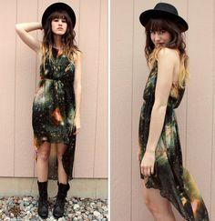 galaxy dress.  gorgeous.