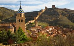 Albarracín, Spain: A sliver of medieval Spain has been preserved within the fortified walls of this village, which is surrounded by the barren hills of the central Aragon region.