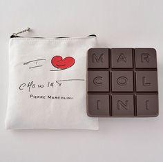 """I LOVE CHOCOLAT"", Tablette Venezuela, Pierre Marcolini, Valentine 2015"