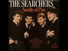 The Searchers - Needles and Pins 1964 The Searchers were part of the British Invasion that took place in the early and Pins is just one of their many hit songs. Needles and Pins was also a hit for Jackie I Love Music, Good Music, Jackie Deshannon, The Searchers, Power Pop, 60s Music, British Invasion, Film Music Books, Types Of Music