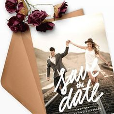 Announce your upcoming nuptials with a stylish Save the Date card from Minted.  Enjoy 15% off all wedding orders with code: BFWED. Black Friday offer expires on 11/27.