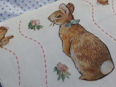 5 Sheets Beatrix Potter Bunnies Border Big Stickers 2001 Colorbok, Peter Rabbit