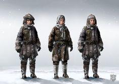 Frostpunk, A Miserable Game That Looks Beautiful Video Game Artist, Character Art, Character Design, Star Art, Female Art, Concept Art, That Look, Steampunk, Winter