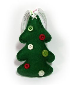 felt christmas tree decoration by bagladee on etsy christmas tree decorations felt christmas christmas