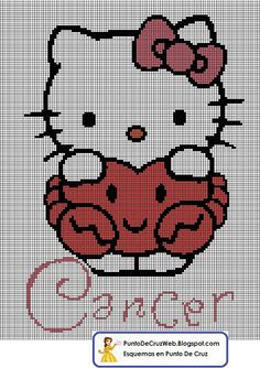 héros - cartoon - bd - hello kitty - point de croix - cross stitch - Blog : http://broderiemimie44.canalblog.com/