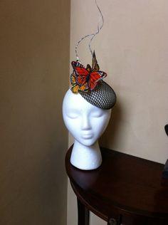 Flutter by TIFFANY AREY #Millinery #hats #HatAcademy