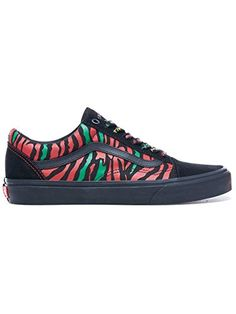 d0cbb7de762a27 Mens Black Red A Tribe Called Quest Old Skool Sneakers