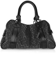 Burberry Shoes & Accessories 'Knight' Studded Leather Bag