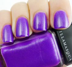 A spa day is not complete without a wonderful nail polish! I love this purple by Illamasqua called Poke