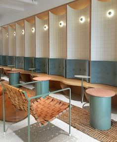 Cafe seating design chairs 34 ideas Cafe seating design chairs 34 ideas The post Cafe seating design chairs 34 ideas appeared first on Design Ideas. Architecture Restaurant, Café Restaurant, Restaurant Seating, Interior Architecture, Modern Restaurant, Cafe Seating, Booth Seating, Public Seating, Hallway Seating