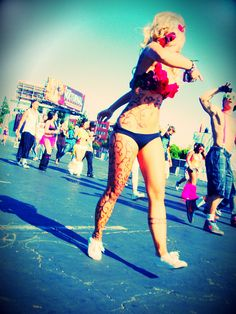 Free Love. EDC Electric Daisy Carnival LA