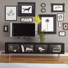 Decorating Around You Flat Screen Tv - Fashion Central