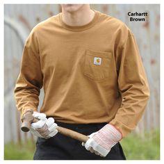 Carhartt Long Sleeve Workwear T-Shirt