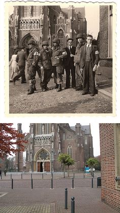 Ghosts of war - Side by side then and now