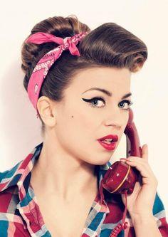 Die 60 Besten Bilder Von Frisuren Rockabilly Vintage Hairstyles