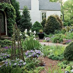 I want a cottage garden in my front yard