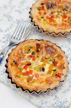 Les Cocottes Moelleuses: La tarte aux légumes du soleil et chèvre
