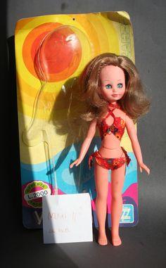 Doll Viviana vintage fashion doll Zanini e Zambelli, Italy $25+10