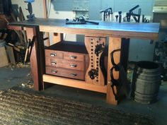 workbenches: new fangled, 21st century, or...? - by AaronK @ LumberJocks.com ~ woodworking community