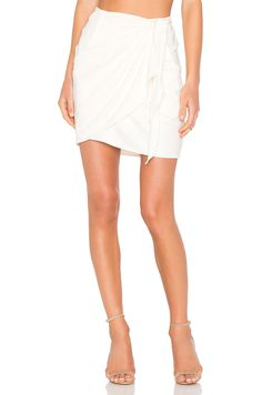 Otis & Maclain Mamie Skirt in White