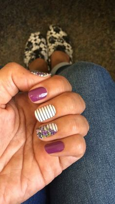 Jamberry. Layers. Mixed mani. Dancing lilac. Vip laquer. Country club