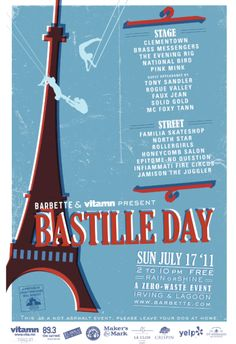 events on bastille day